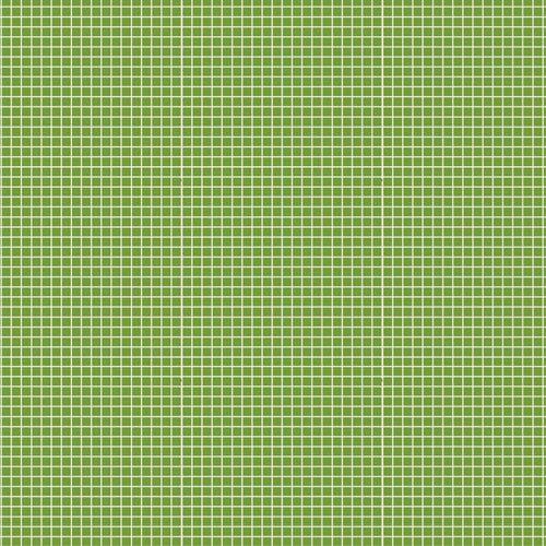 Estampa Quadradinhos Verde Folha