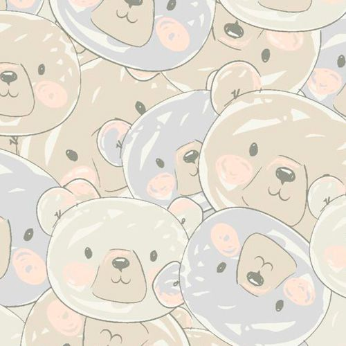Estampa Ursos e Balões 02