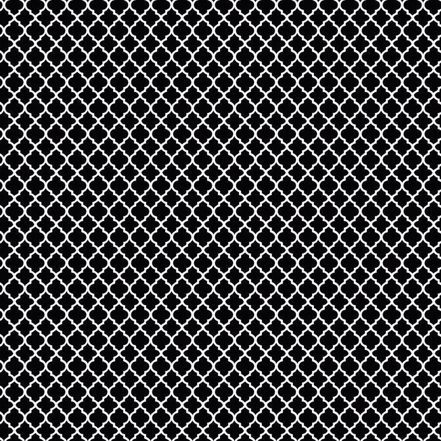 Estampa Variante Preto e Branco 03