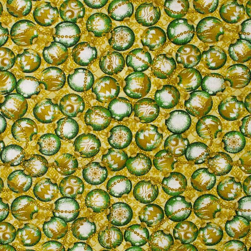 Estilotex - Coleção Natal - Bolas de Natal - 50cm X150cm