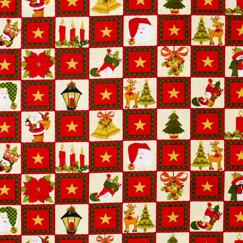 Estilotex - Coleção Natal - Figuras de Natal - 50cm X150cm
