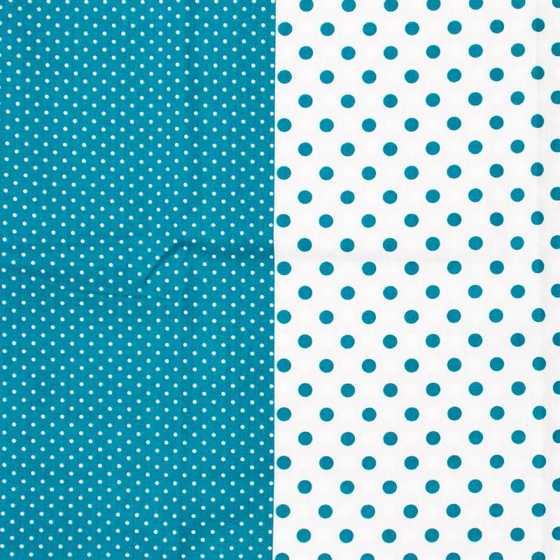 Estilotex - Faixa Poás Chevrons e Xadrez Azul Branco - 50cm x 150cm