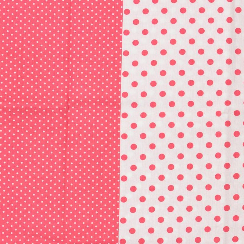 Estilotex - Faixa Poás Chevrons e Xadrez Rosa e Branco - 50cm x 150cm