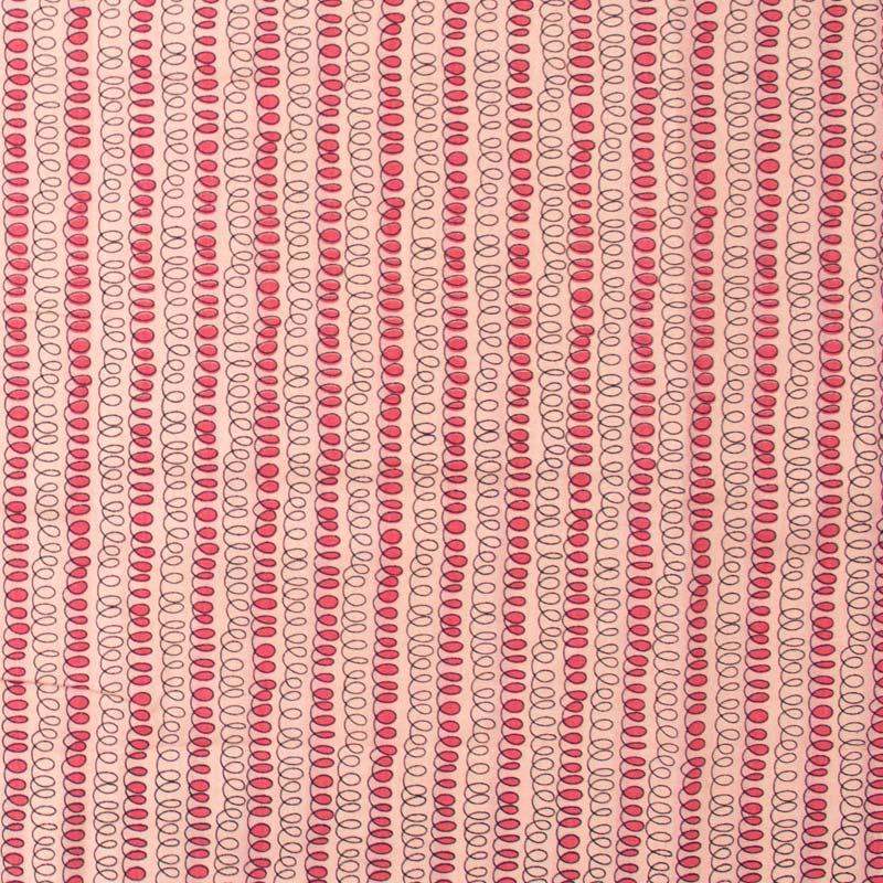 Eva e Eva  - Molas Fundo Rosa - 50cm x 150cm