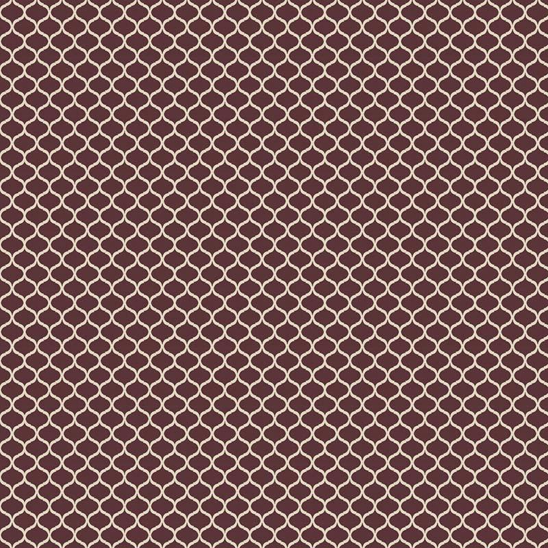 Fabricart Coleção Aromas do Campo - Mini Vitral Vinho - 50cm x 150cm