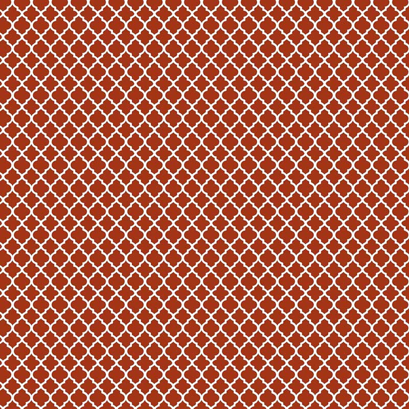 Fabricart Coleção Basics & Colors - Geométricos - Mini Vitral Ferrugem - 50cm X150cm