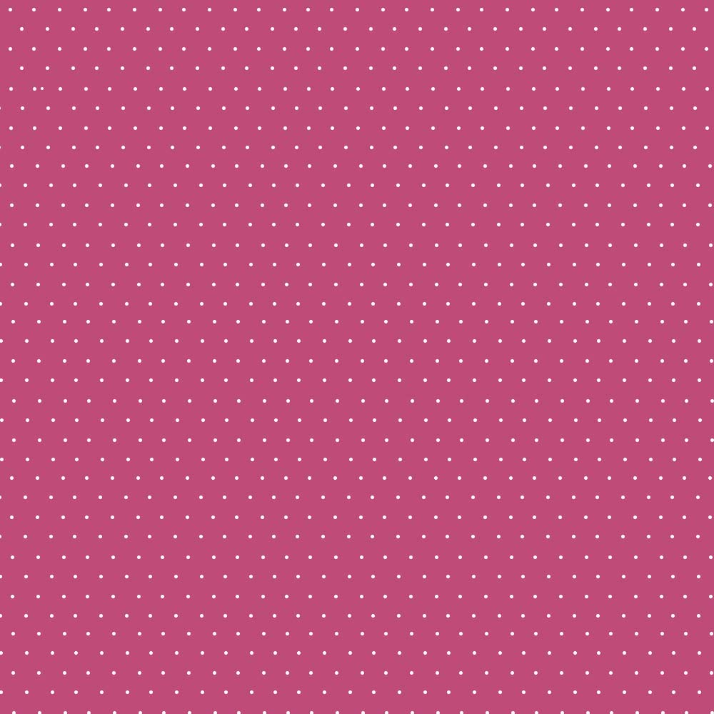 Fabricart Coleção Basics & Colors - Poás - Micro Poá Cereja - 50cm X150cm