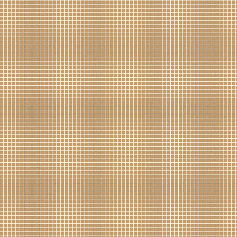 Fabricart Coleção Basics & Colors - Quadradinhos - Quadradinhos Café Com Leite - 50cm X150cm