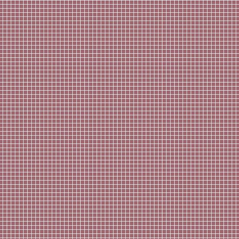 Fabricart Coleção Basics & Colors - Quadradinhos - Quadradinhos Rosa Antigo - 50cm X150cm