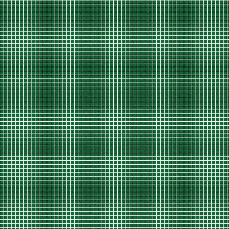 Fabricart Coleção Basics & Colors - Quadradinhos - Quadradinhos Verde Floresta - 50cm X150cm