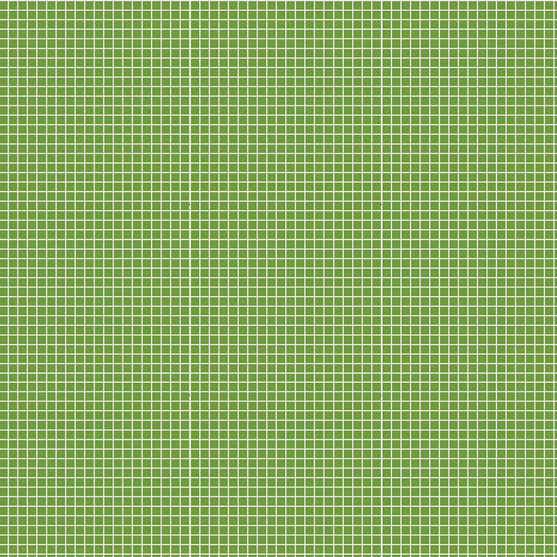 Fabricart Coleção Basics & Colors - Quadradinhos - Quadradinhos Verde Folha - 50cm X150cm