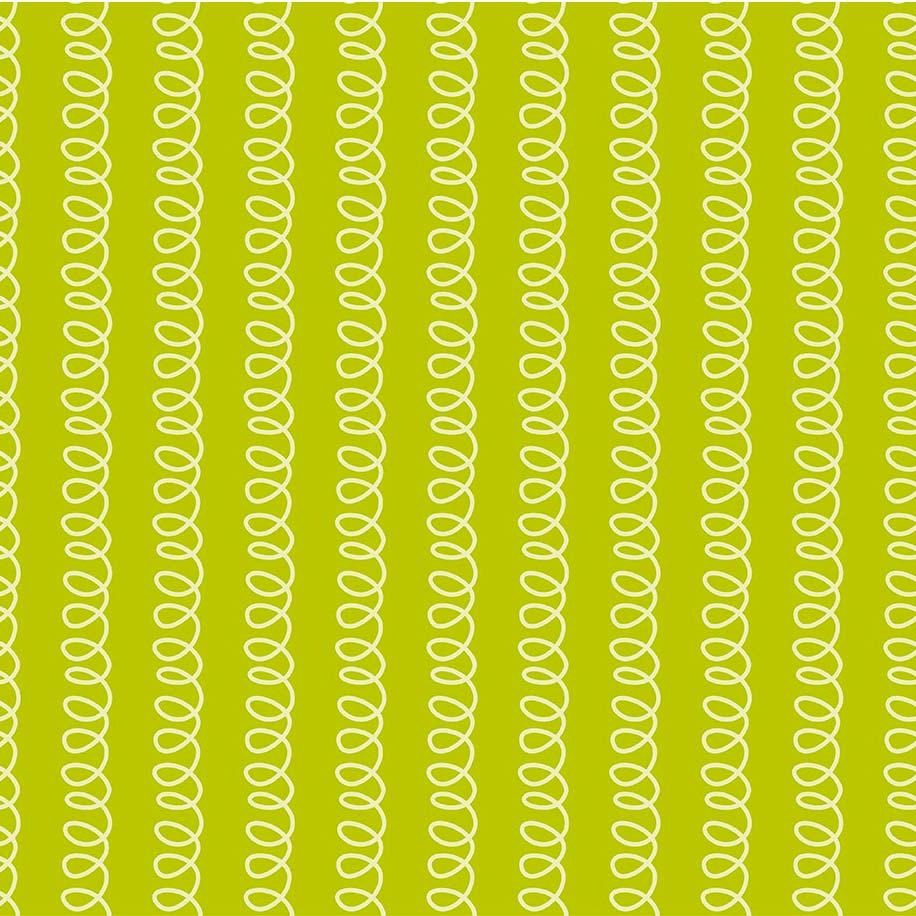 Fabricart Coleção Selva Colorida - Molinhas Abacate - 50cm X150cm