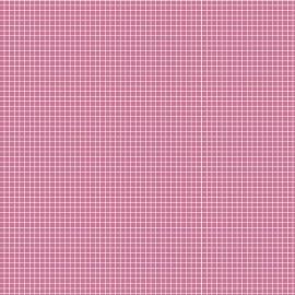 Fabricart - Quadradinhos Rosa Chiclete - 50cm x 150cm
