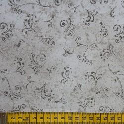 Fernando Maluhy - Arabesco Texturado Cinza - 50cm X150cm