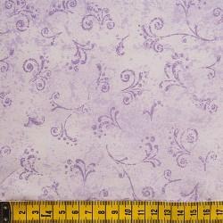 Fernando Maluhy - Arabesco Texturado Lilás Claro - 50cm X150cm