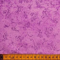 Fernando Maluhy - Arabesco Texturado Lilás Médio - 50cm X150cm