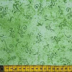 Fernando Maluhy - Arabesco Texturado Verde Médio - 50cm X150cm