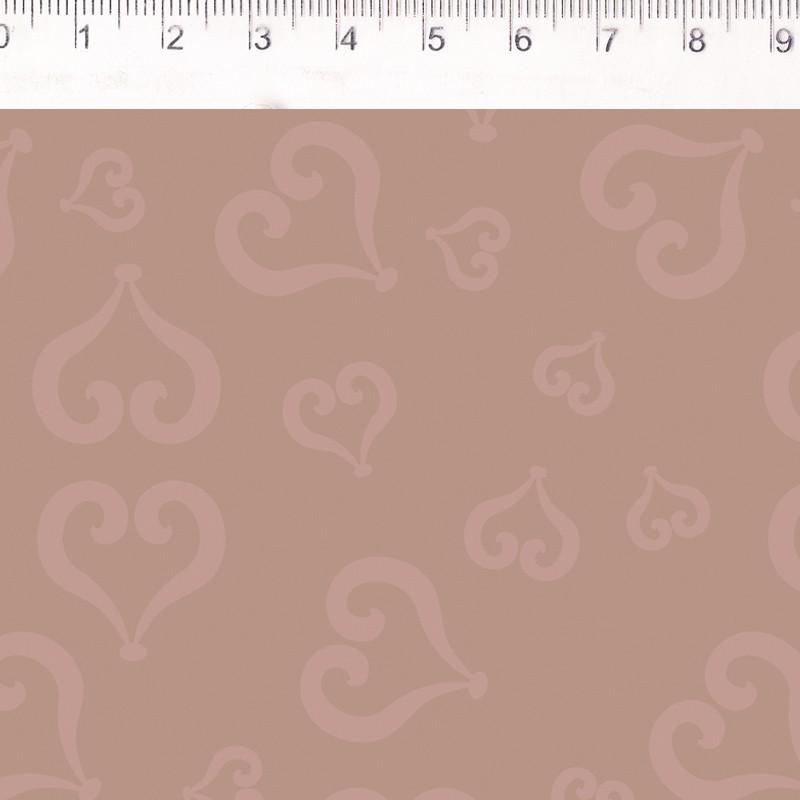 Fernando Maluhy - Coleção Baltimore - Portais Favero - Coração Rose - 50CM X150CM