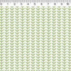 Fernando Maluhy - Coleção Botânica - Floral Verde - 50cm X 150cm