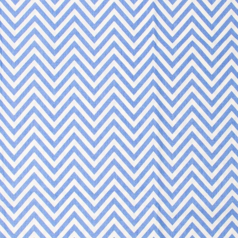 Fernando Maluhy - Coleção Chevron - Azul Bebê - 50cm X150cm