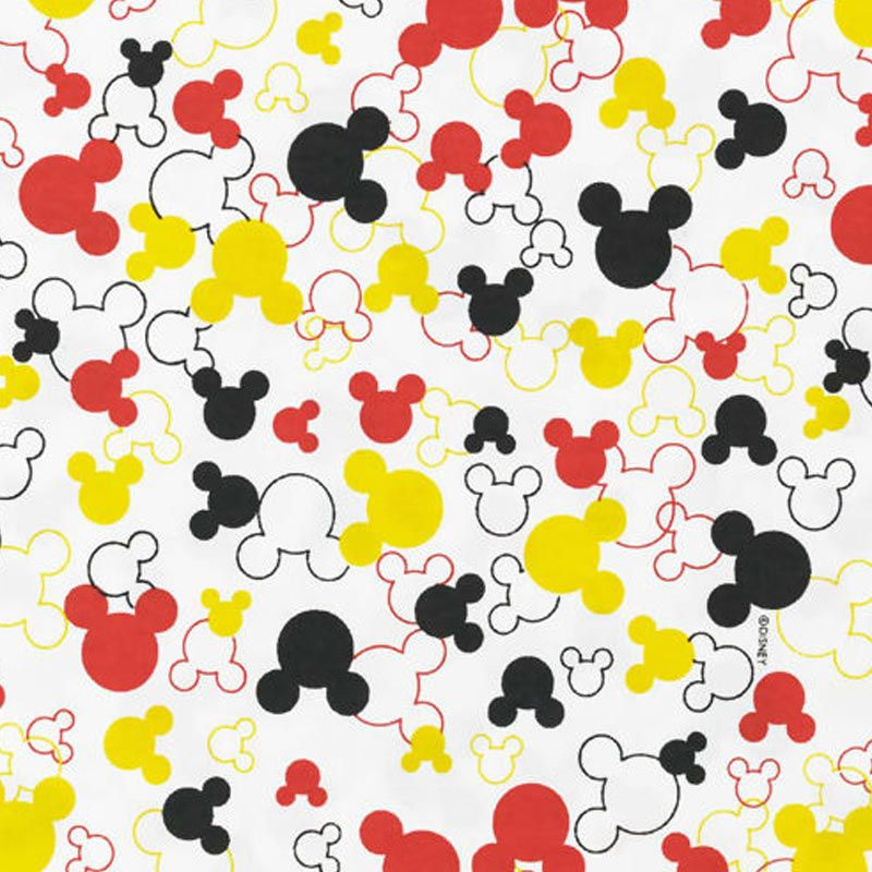 Fernando Maluhy - Coleção Disney - Silhueta Mickey M - 50cm X150cm