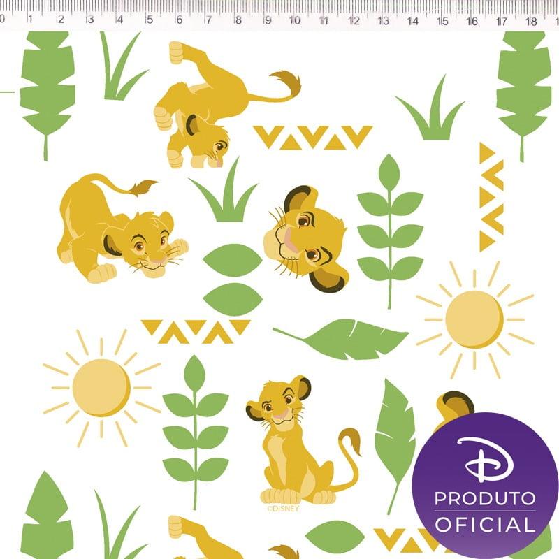 Fernando Maluhy - Coleção Disney - Rei Leão Simba - 50cm X150cm