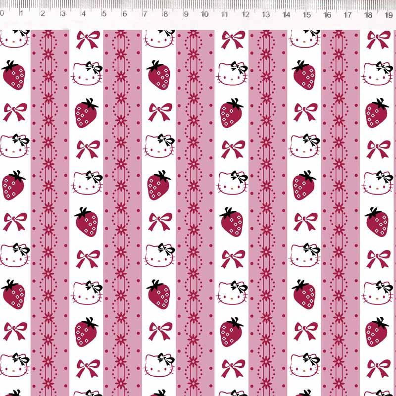 Fernando Maluhy - Coleção Hello Kitty - Lace - 50cm X 150cm