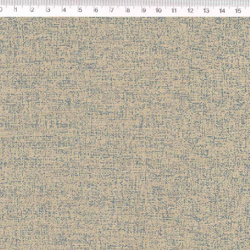 Fernando Maluhy - Coleção Rose Garden -  Linho Estampado - Textura Cinza - Manu- 50cm X140cm