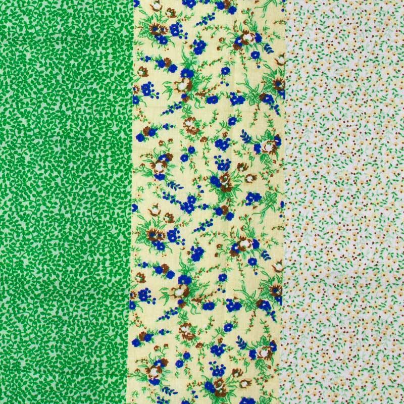 Fernando Maluhy - Faixa Floral Verde - 50cm X150cm