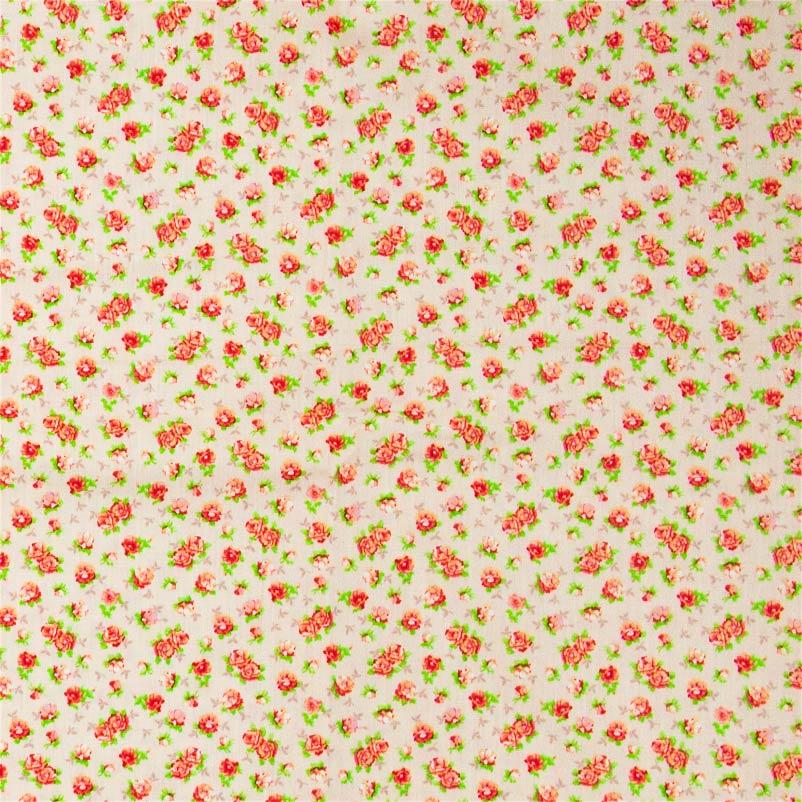 Fernando Maluhy - Floral Vermelho Com Fundo Rosa - 50cm X150cm