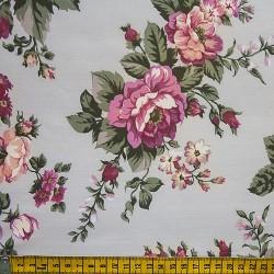 Fernando Maluhy - Rosas Grande Rosa Com Rose  - 50cm X150cm