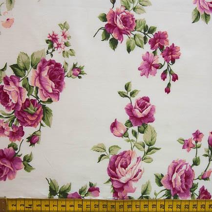 Fernando Maluhy - Rosas Vermelho Fundo Branco - 50cm X150cm