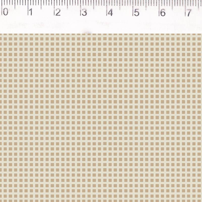 Fernando Maluhy - Xadrez Little Dream Bege  - 50cm X150cm