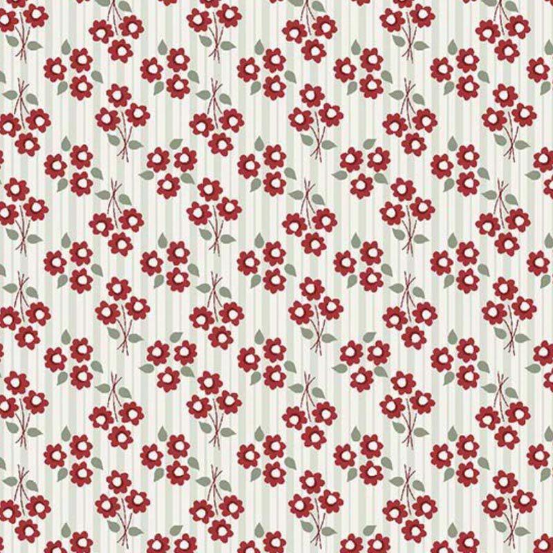 Fuxicos e Fricotes Coleção Entre Amigas - Mini bouquet Vermelho - 50cm X150cm