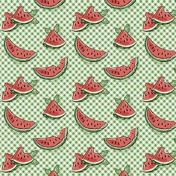 Fuxicos e Fricotes - Coleção Frutas - Mini Melancias - 50cm X150cm