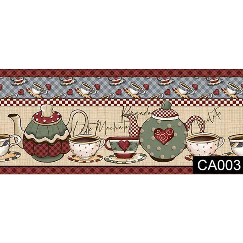 Fuxicos e Fricotes - Coleção Hora do Café - Faixas Hora do Café - 50cm X150cm