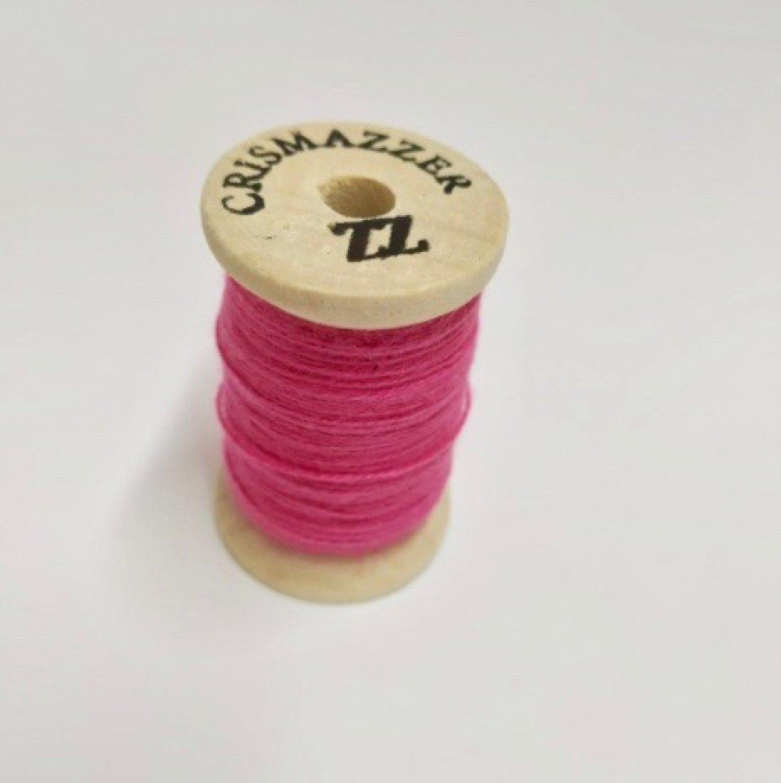 Linha de Bordar Fio 12 Rosa Pink / 3110 - Madeira ( Alemanha)