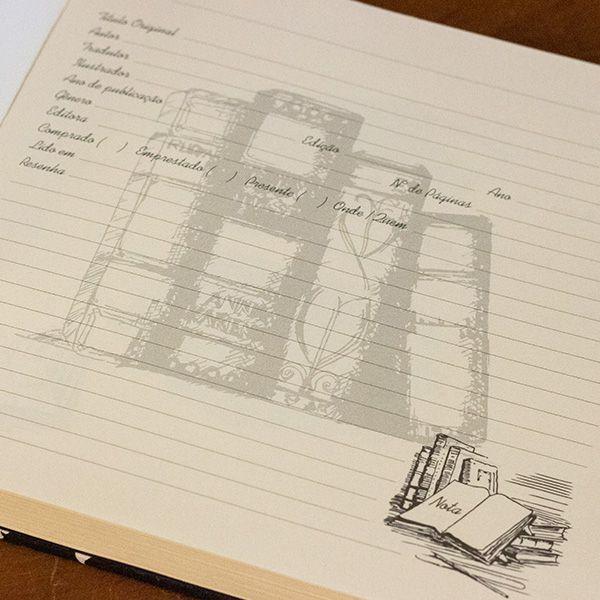 Livro Anotações - Customizável