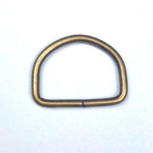 Meia Argola Ouro Velho 3cm