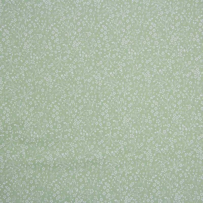 Primor - Floral Fundo Verde - 50cm X150cm