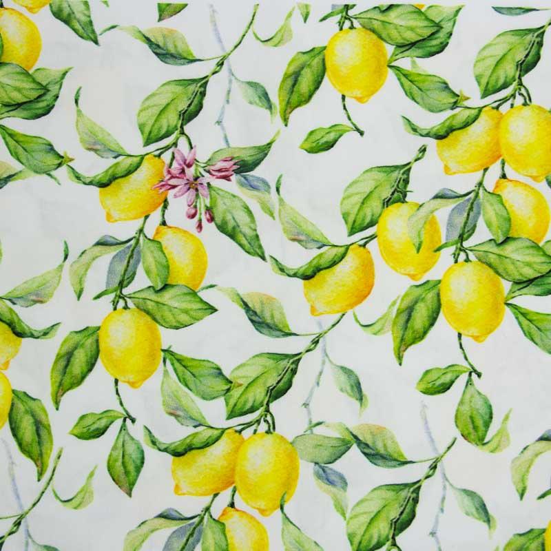 Primor - Limão Siciliano Sarja- 50cm X150cm