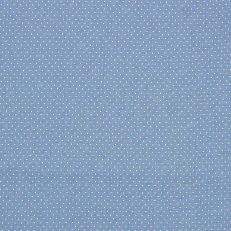 Primor - Poá Azul Bebê - 50cm X150cm