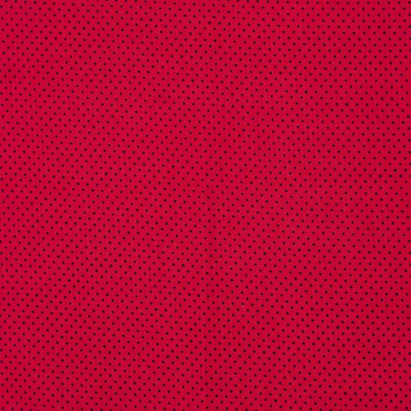 Primor - Poá Preto Fundo Vermelho - 50cm X150cm