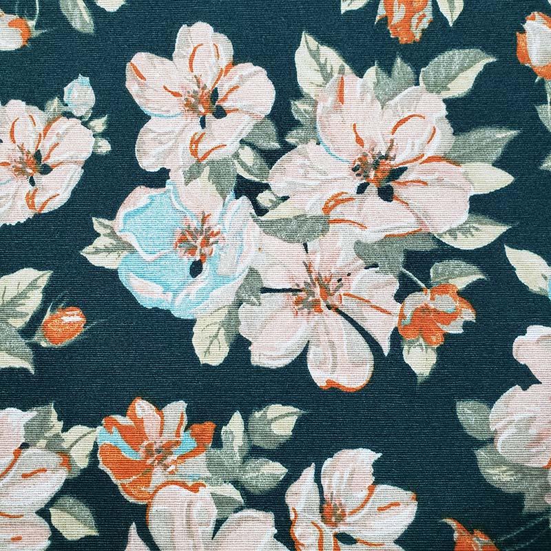 Tecido AcquaBlock - Floral - 50cm x 140cm