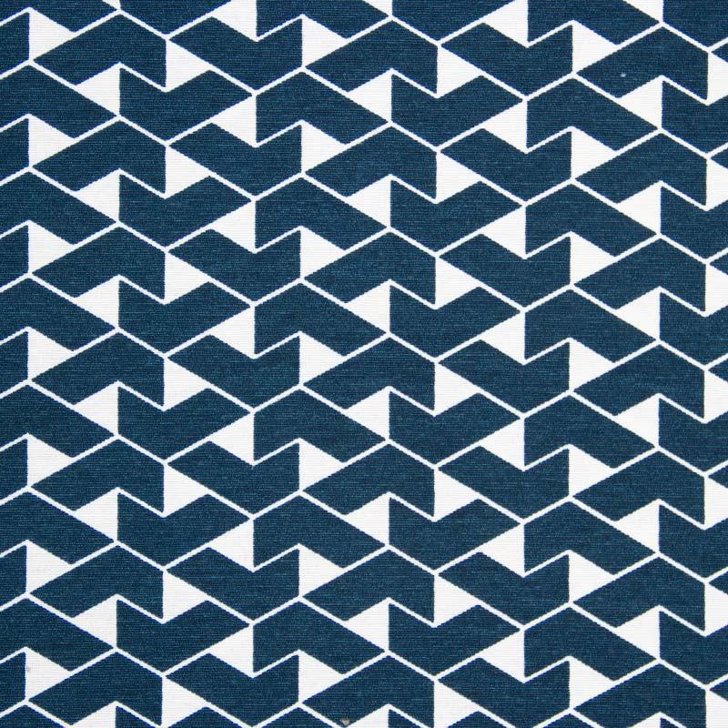 Tecido AcquaBlock - Geométrico Azul - 50cm x 140cm