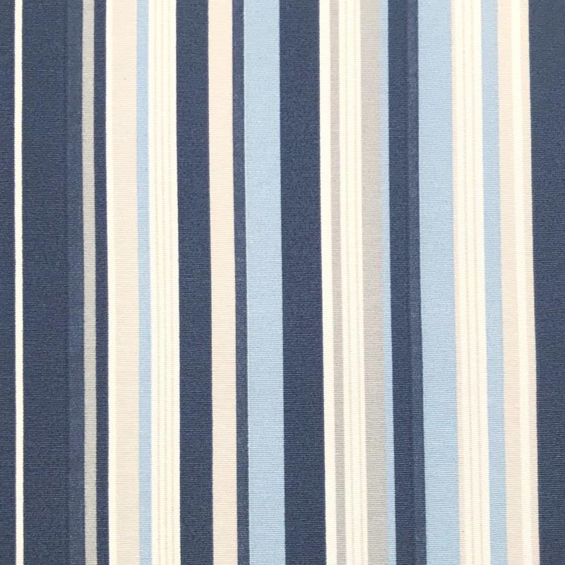Tecido Gorgurão - Listrado Azul - 50cm x 140cm