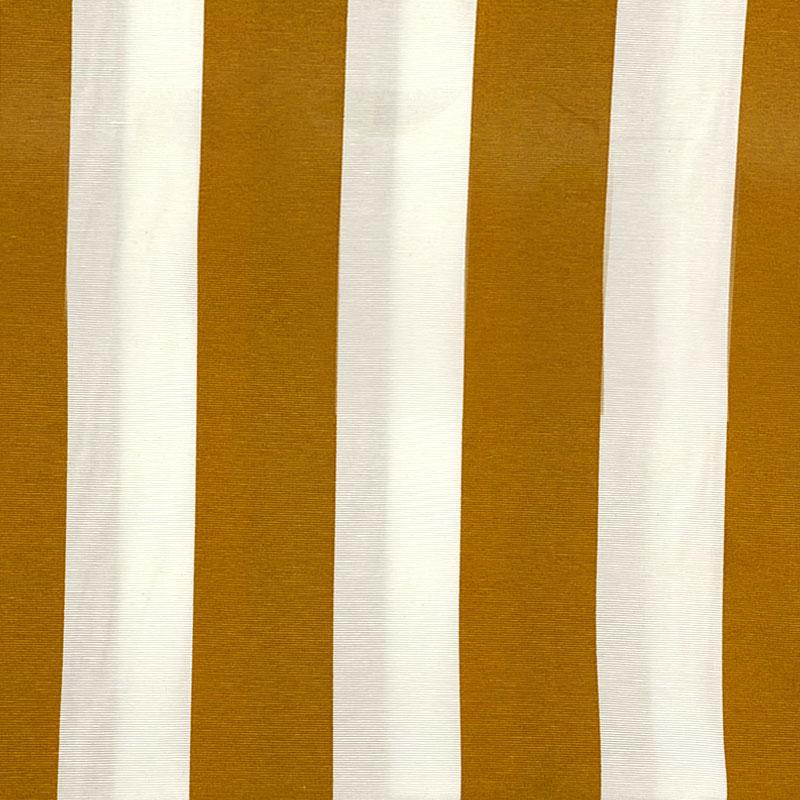 Tecido Gorgurão - Listrado Mostarda - 50cm x 140cm