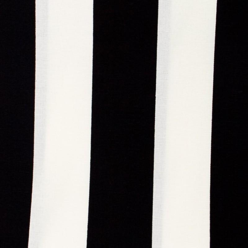 Tecido Gorgurão - Listrado PB - 50cm x 140cm