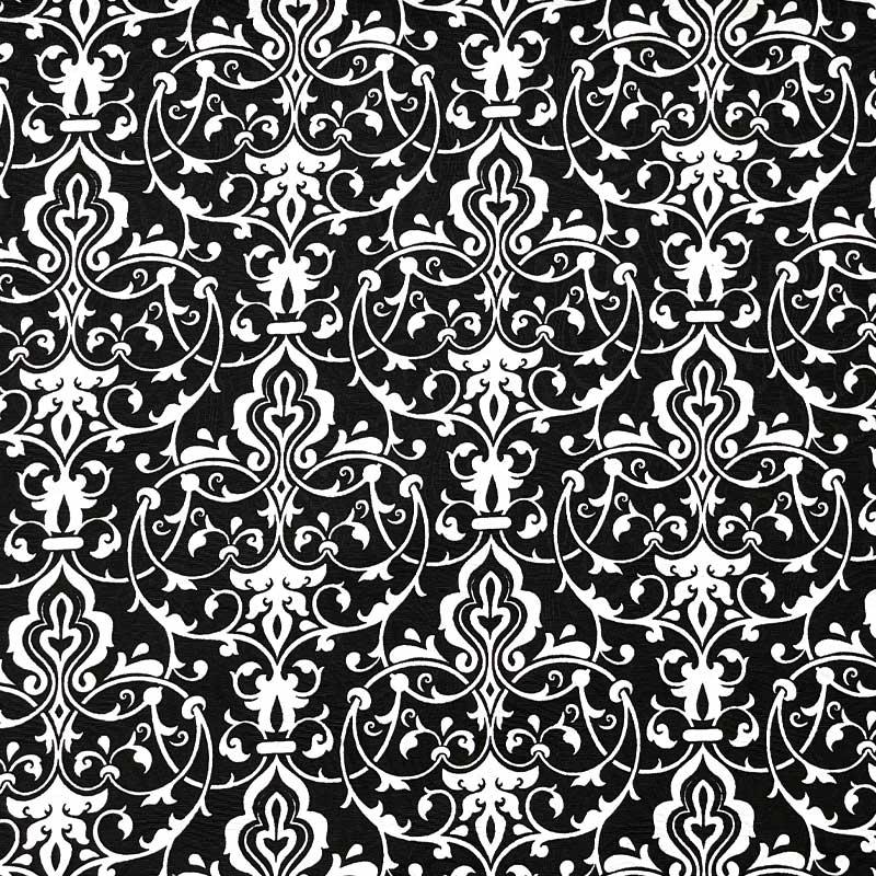 Tecido Jacquard - Arabesco Simples - 50cm x 140cm