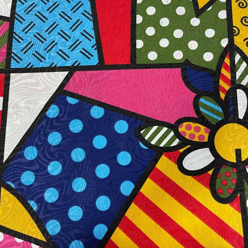 Tecido Jacquard - Color - 50cm x 140cm